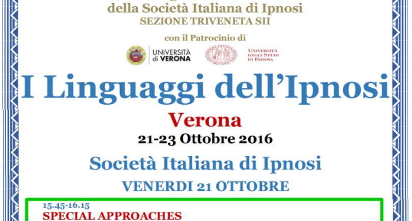 X Congresso Nazionale Società Italiana Ipnosi